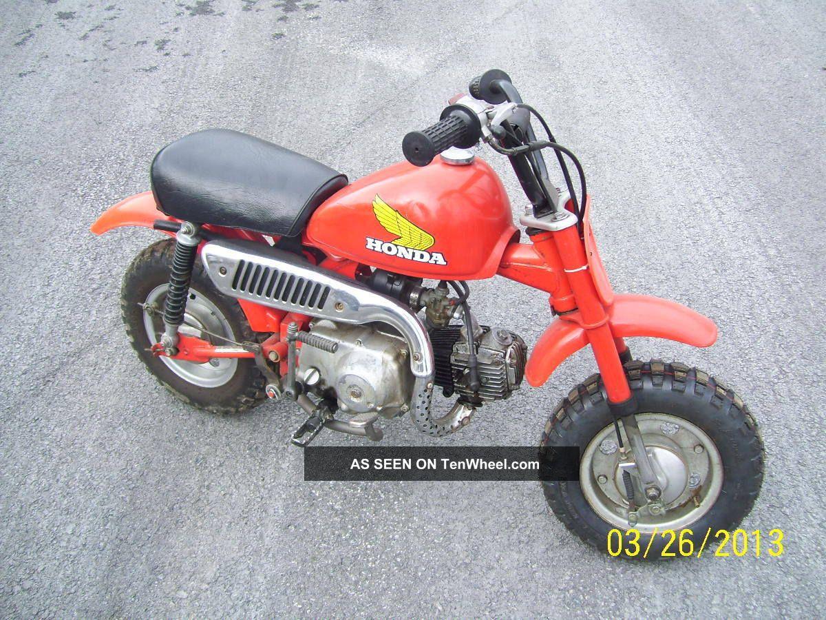 Vintage 1981 Honda Z50 Mini Bike Dirt Trail Starter Kid 50cc
