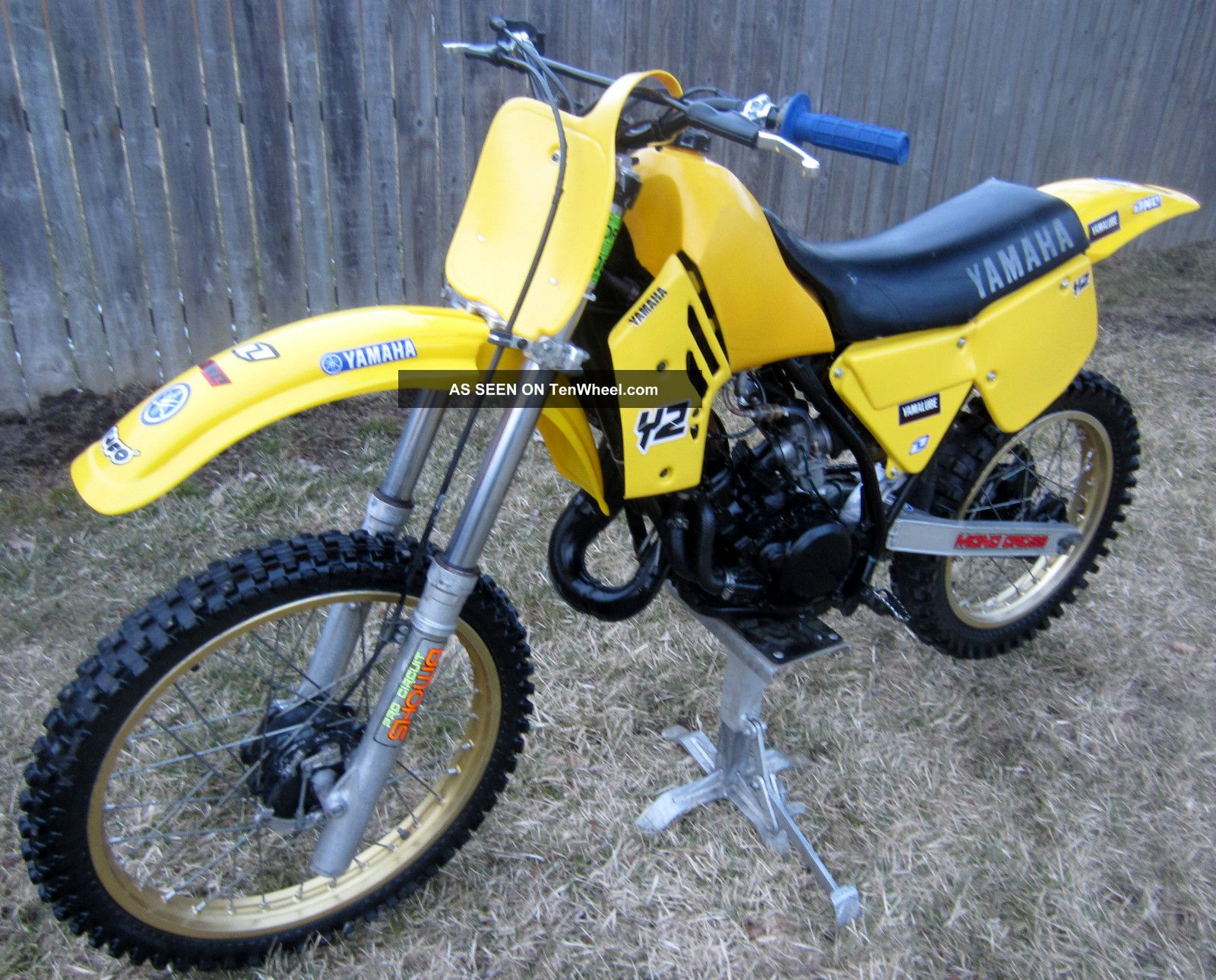 1984 yamaha yz125 yz 125 ahrma vintage motocross dirt bike. Black Bedroom Furniture Sets. Home Design Ideas
