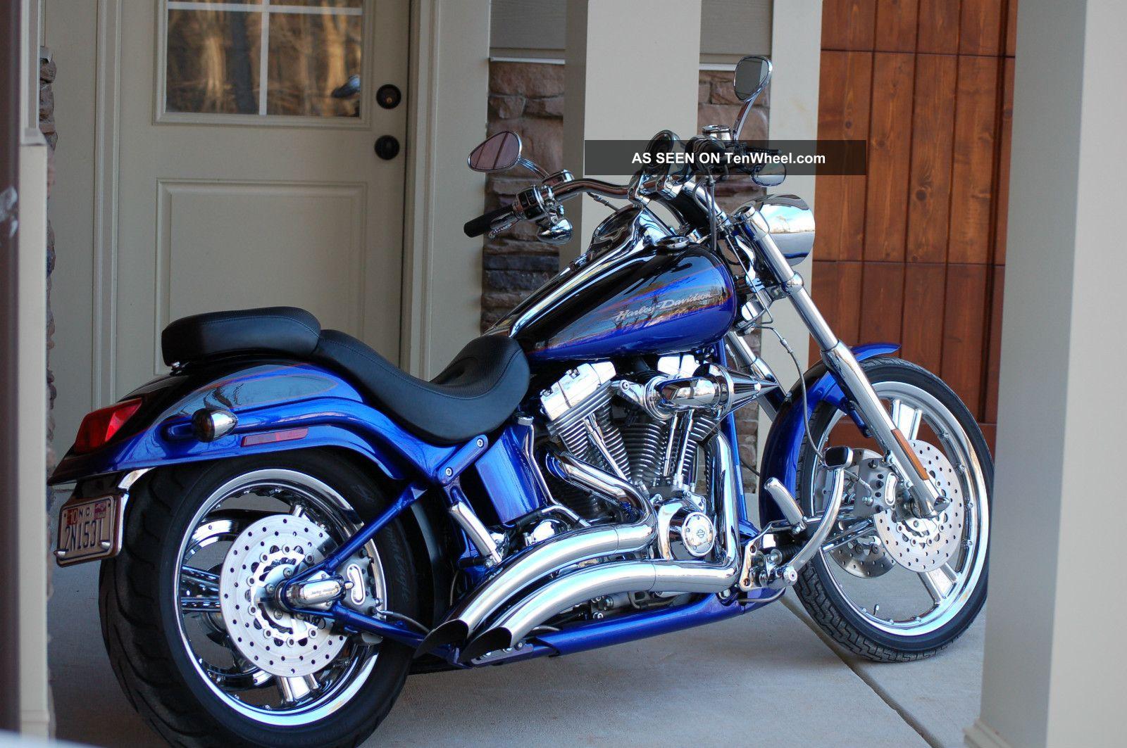 Harley Davidson Cvo Screamin Eagle Deuce Fxstdse2 2004