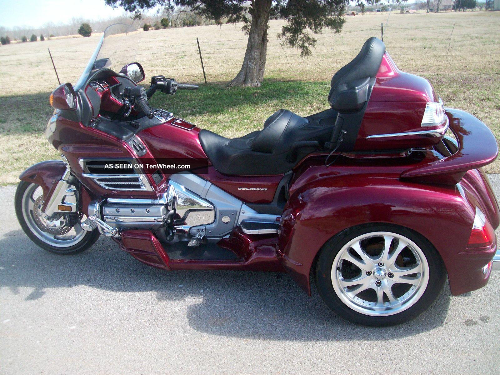 2009 Honda Goldwing Gl1800 Hannigan Trike Champion Sidecar Wiring Diagram