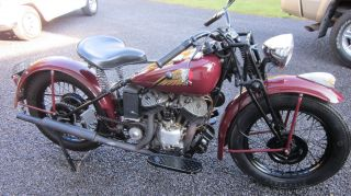 1941 Indian Scout photo