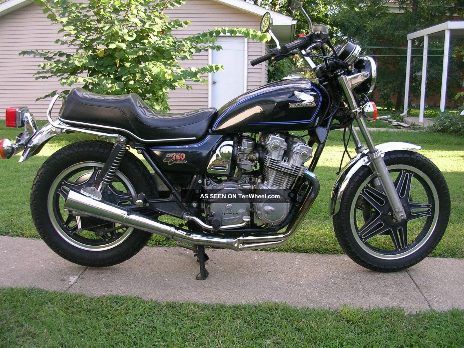 Honda cb750k 1980 untouched survivor for 1980s honda motorcycles