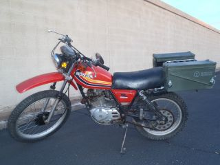 1978 Honda Xl 250 S photo