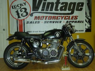 1974 Honda Cb 750 K4 Lucky 13 Cafe Racer photo