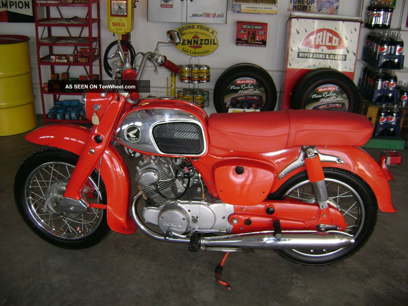 1968 Honda 160 Baby Dream / Shiners Parade Cycle / / Outstanding Survivor Other photo