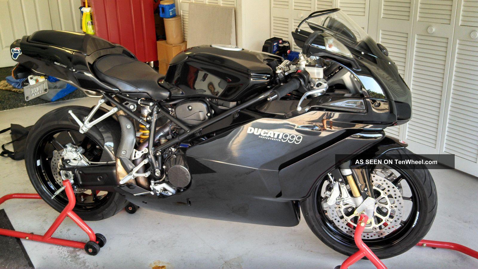 2005 Ducati 999 Bi Posto,  Black Loaded Superbike photo