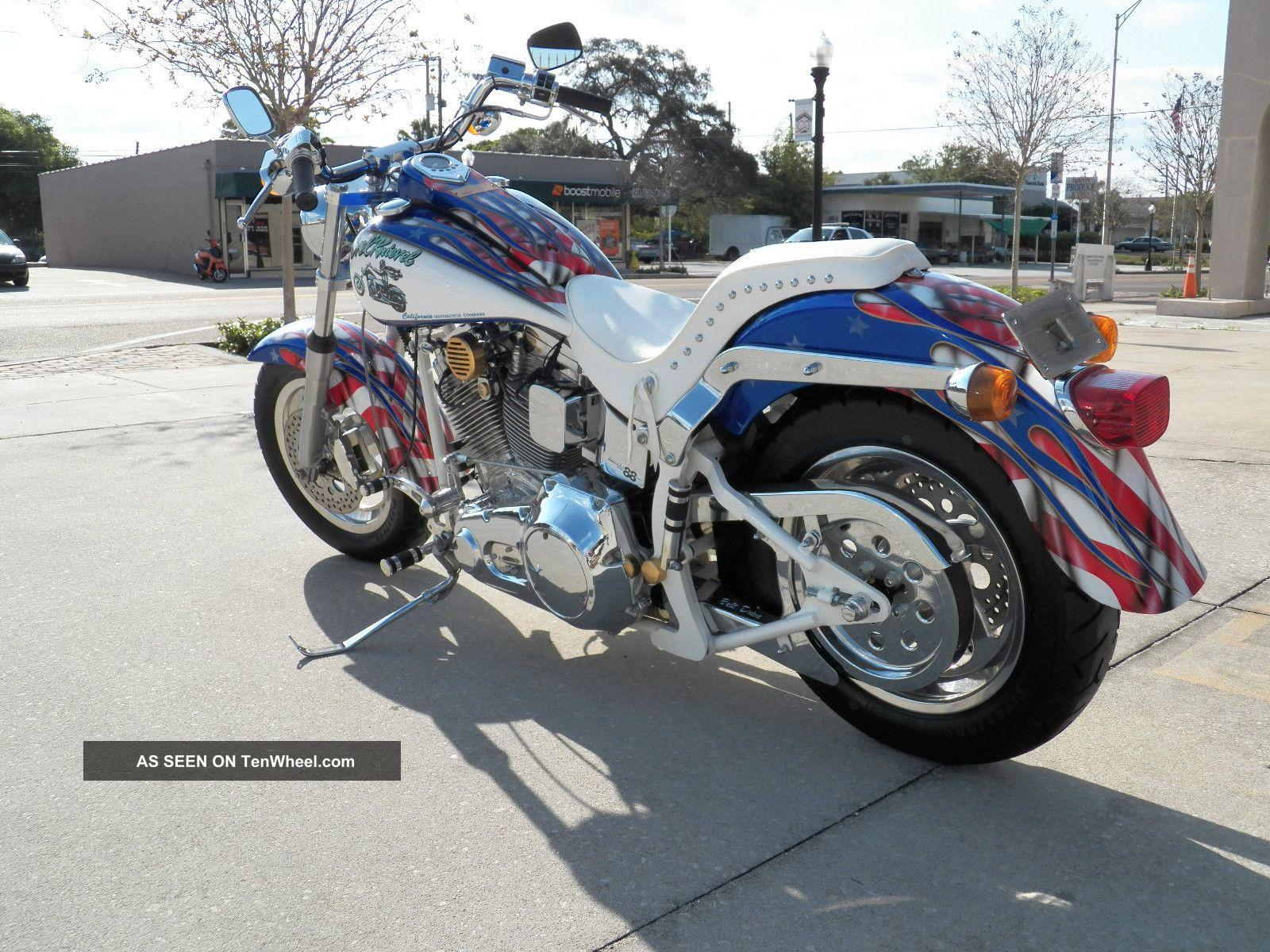 Evel Knievel Harley Davidson Chopper Photograph By Frank: 1998 California Motorcycle Company (evel Knievel