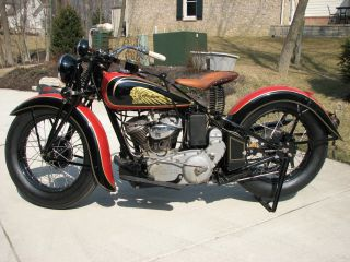 1936 Indian Sport Scout photo