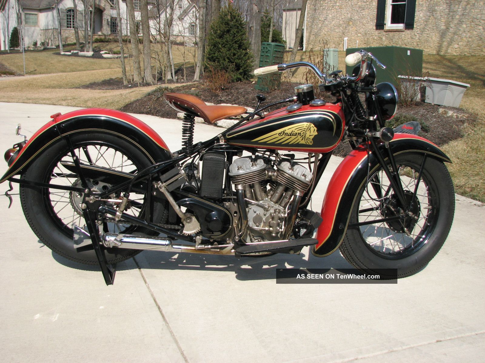 Antique Indian Motorcycles For Sale Pin 1936 Indian Sport Scout Motorcycle on Pinterest