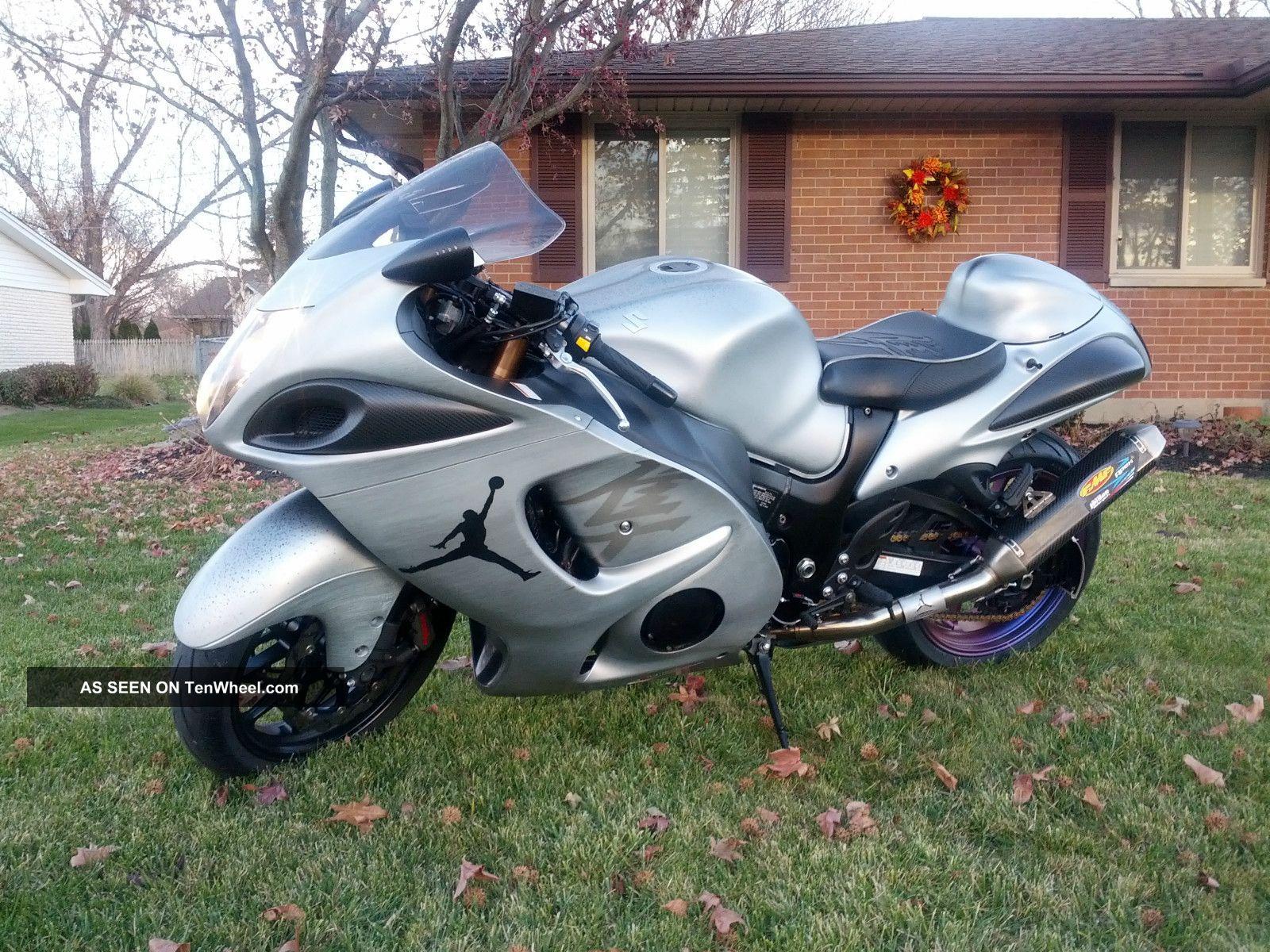 Custom 2011 Suzuki Hayabusa Motorcycle By Michael Jordan