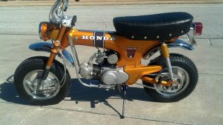 1971 Honda Ct Trail 70 Candy Gold photo