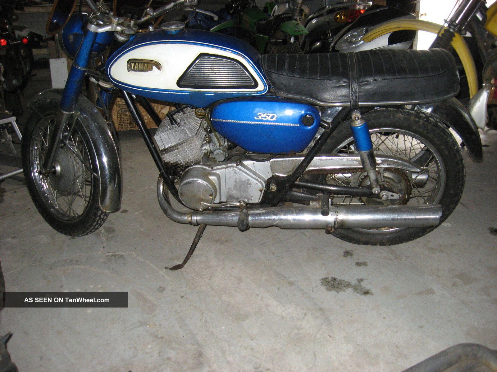 1968 Yamaha Yr2 350 Low Pipe 1967 Ya6 / Sb / R1 Other photo