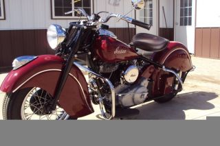 1948 Indian Chief Motorcycle photo