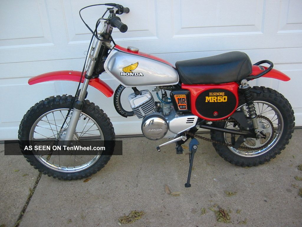1975 Honda Elsinore Mr50 Rare 2 Years Only Looks / Cr60 Cr125 Cr250 Other photo
