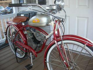 1946 Whizzer Motor Bike,  26
