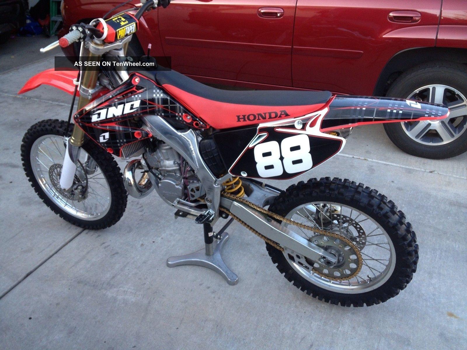 2004 Honda Cr250 Dirt Bike Cr250r