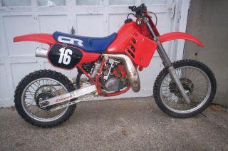 1985 Honda Cr 250 R Vintage Dirtbike photo
