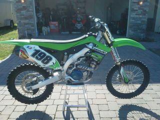 2012 Kawasaki Kx450f photo