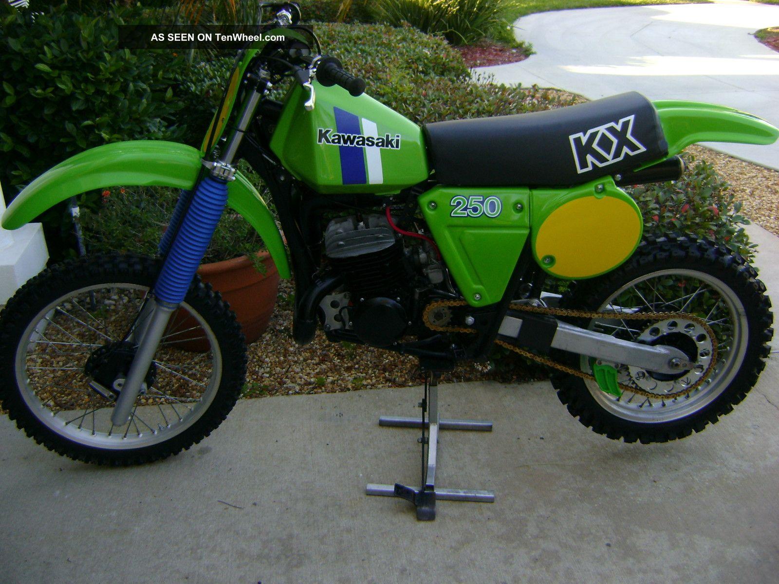 1980 Kawasaki Kx 250 - Ahrma - Isdt - Vintage Motocross KX photo