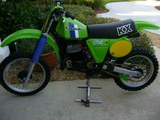 1980 Kawasaki Kx 250 - Ahrma - Isdt - Vintage Motocross photo