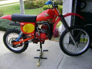1979 Cr 125 Elsinore - Ahrma _ Vintage Motocross photo