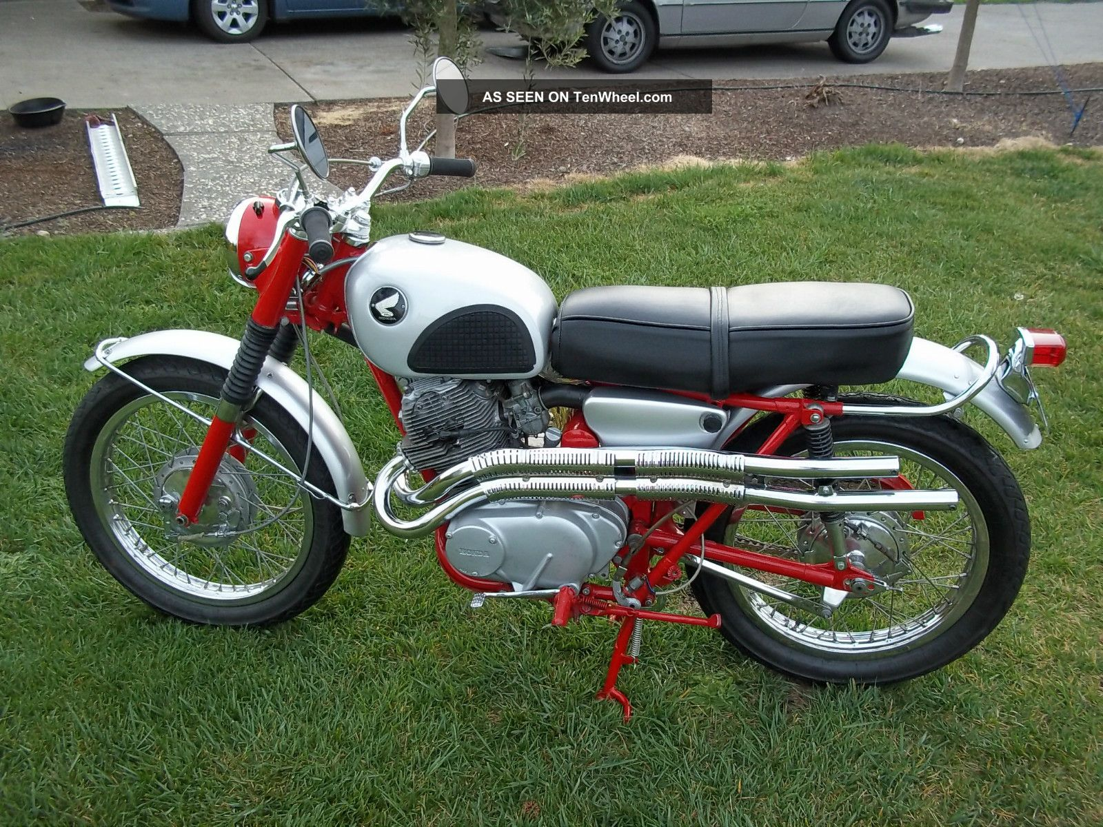 Honda Ca951964 Ca95 Benly Or Baby Dream Youtube Barn Find Wiring 1965 Cl72 Scrambler And