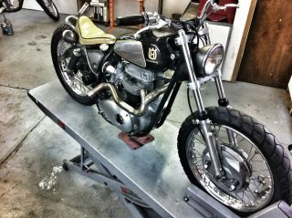 1969 Bsa Lightning / Thunderbolt Bobber photo