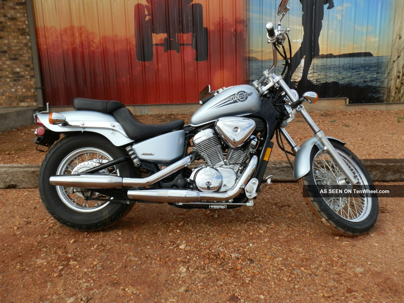 2007 Honda Shadow Vlx600 Shadow photo