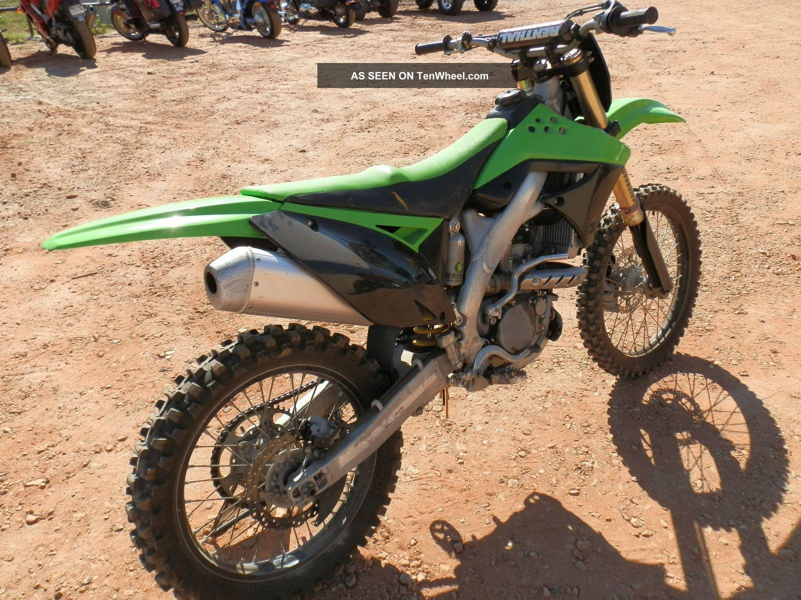 2010 Kawasaki Kx250f KXF photo