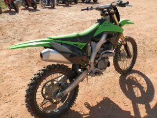 2010 Kawasaki Kx250f photo