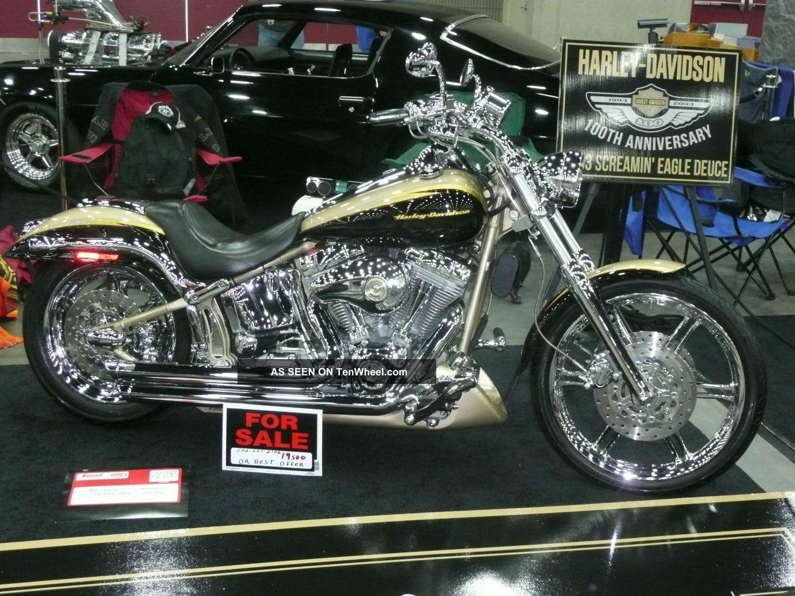2003 100th Anniversary Cvo Harley Davidson Screaming Eagle Deuce