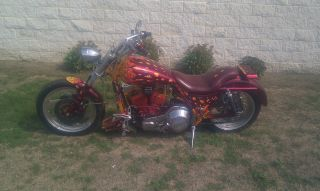 1986 Harley - Davidson Fxr Custom Paint photo