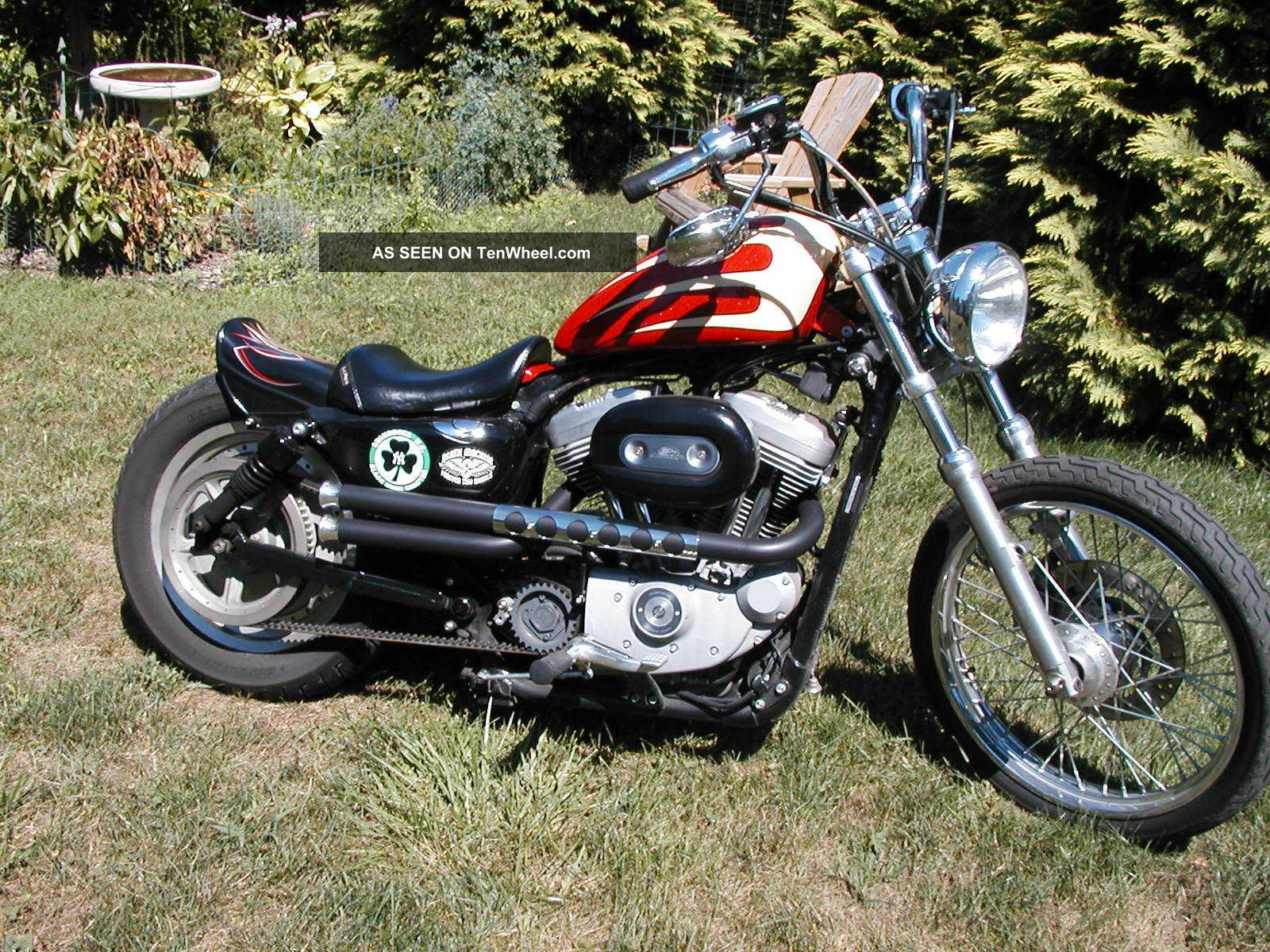 2004 harley davidson xl883 sportster xl sporty 883 custom cruiser bobber look ny. Black Bedroom Furniture Sets. Home Design Ideas