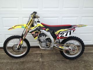 2013 Suzuki Rmz450 photo