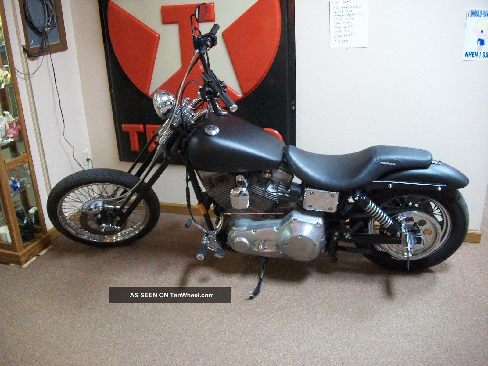 1999 Harley Davidson Glide Flat Black Springer Motor Cycle Other photo