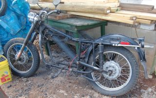 1998 Ural Rolling Chassis W Clear Va Title photo