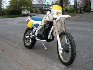 1984 Husqvarna Wr 500 Ahrma Very photo