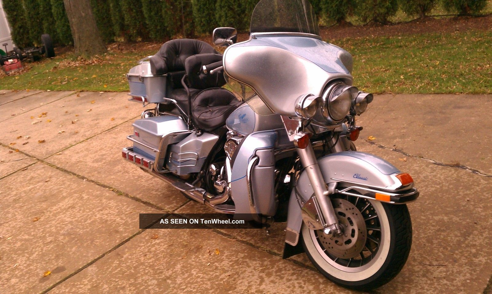 1986 Harley Davidson Electra Glide Custom Chrome 401 Of 650 Other photo