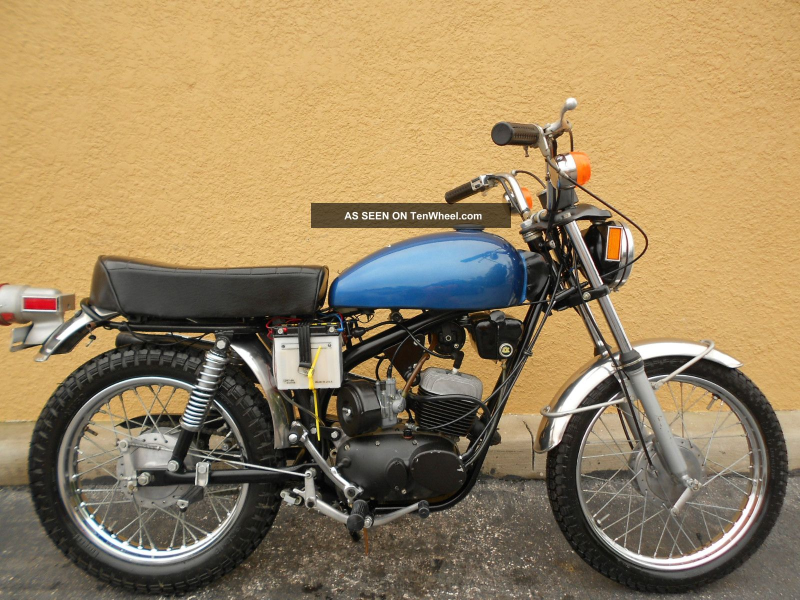 1974 Harley Davidson Aermacchi Z - 90 Motorcycle Estate Find