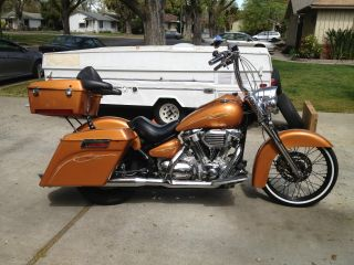 2000 Yamaha Roadstar Custom Bagger photo