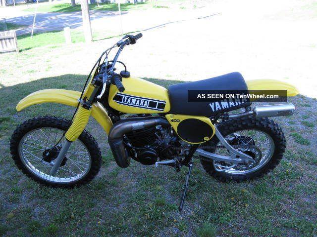 1978 Yamaha Yz 400e YZ photo