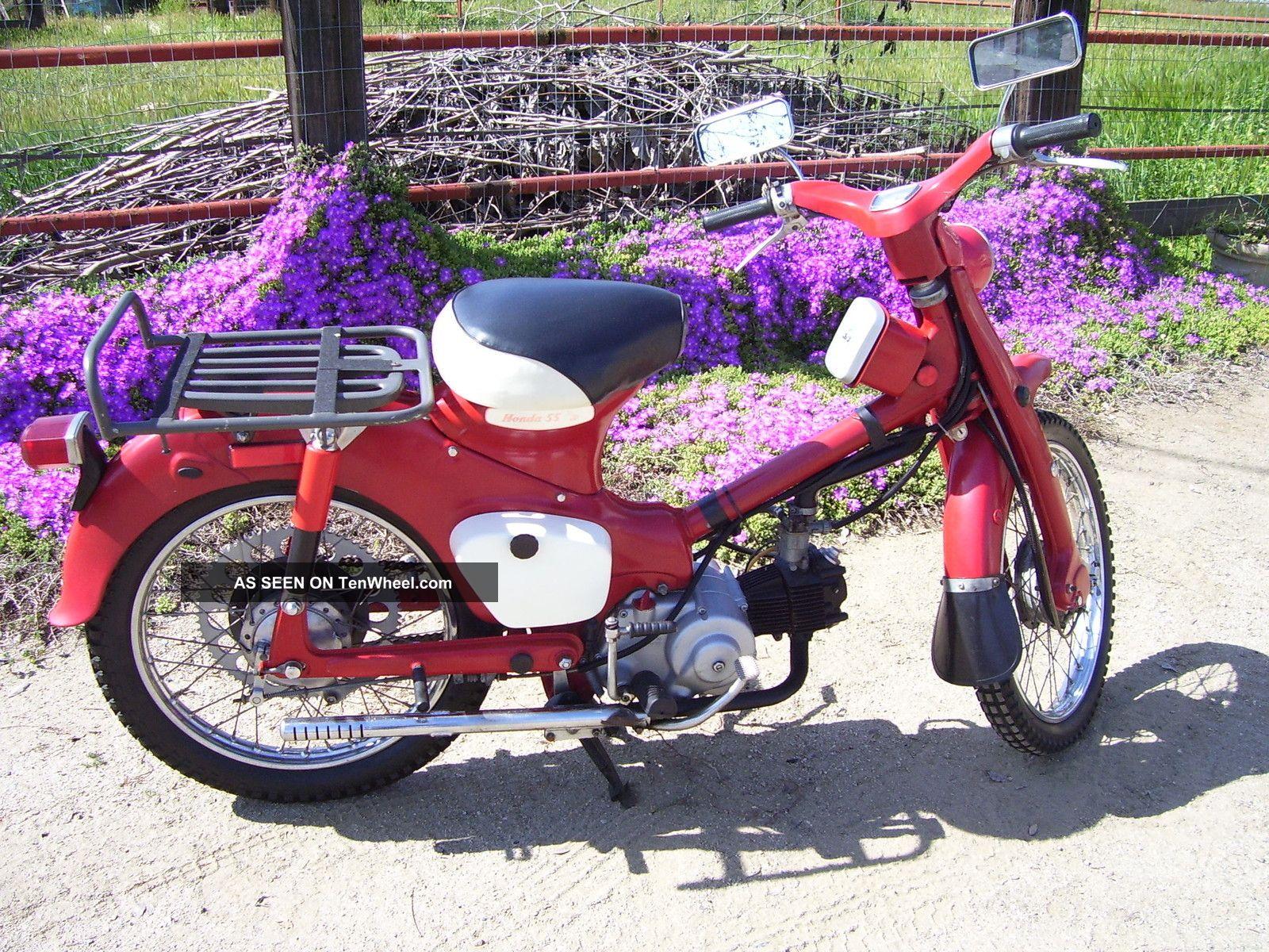 "Indian Trail Dodge >> 1963 Honda Trail 55 Ca105t Motorcycle, "" Hondas First Trail Bike "" Dual Sprocket"