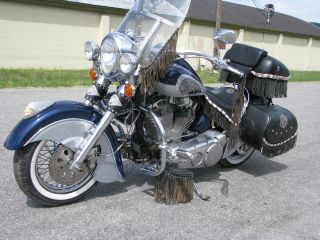 2002 Custom Indian Only One Like It photo