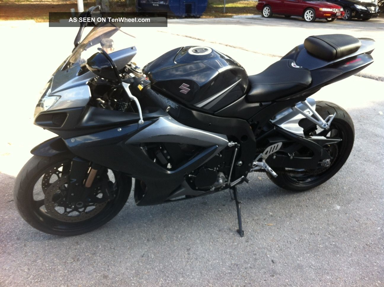 2007 suzuki gsxr 750 two brothers carbon fiber exhuast 3 gsx r750 gixxer. Black Bedroom Furniture Sets. Home Design Ideas