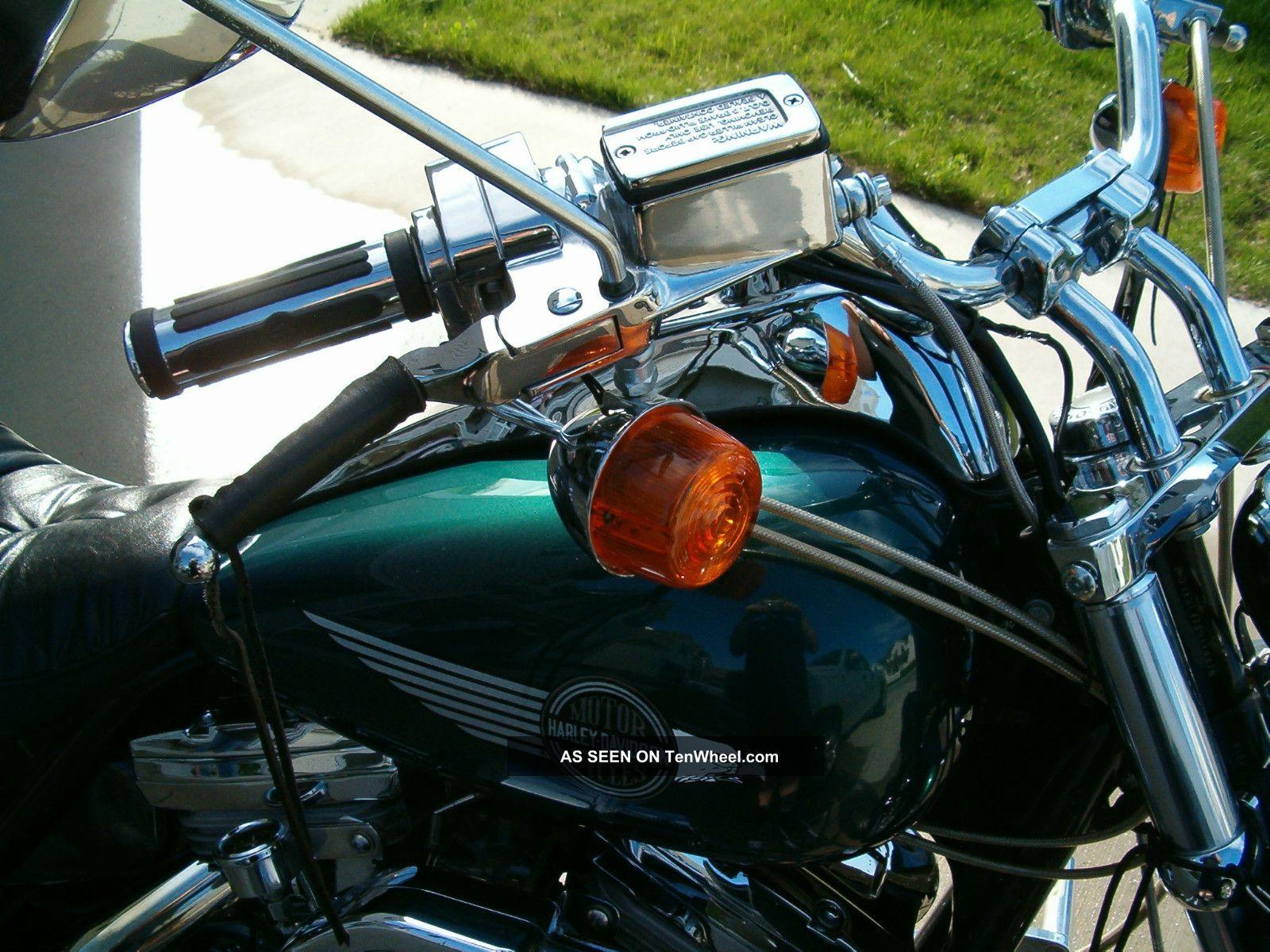 1986 Harley Davidson Low Rider Fxr Custom - Lots Of Chrome And