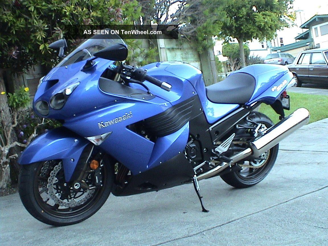 2006 Kawasaki Zx - 14 Ninja Candy Plasma Blue Ninja photo