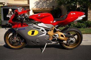 Mv Agusta F4 750 2002 Oro Package photo