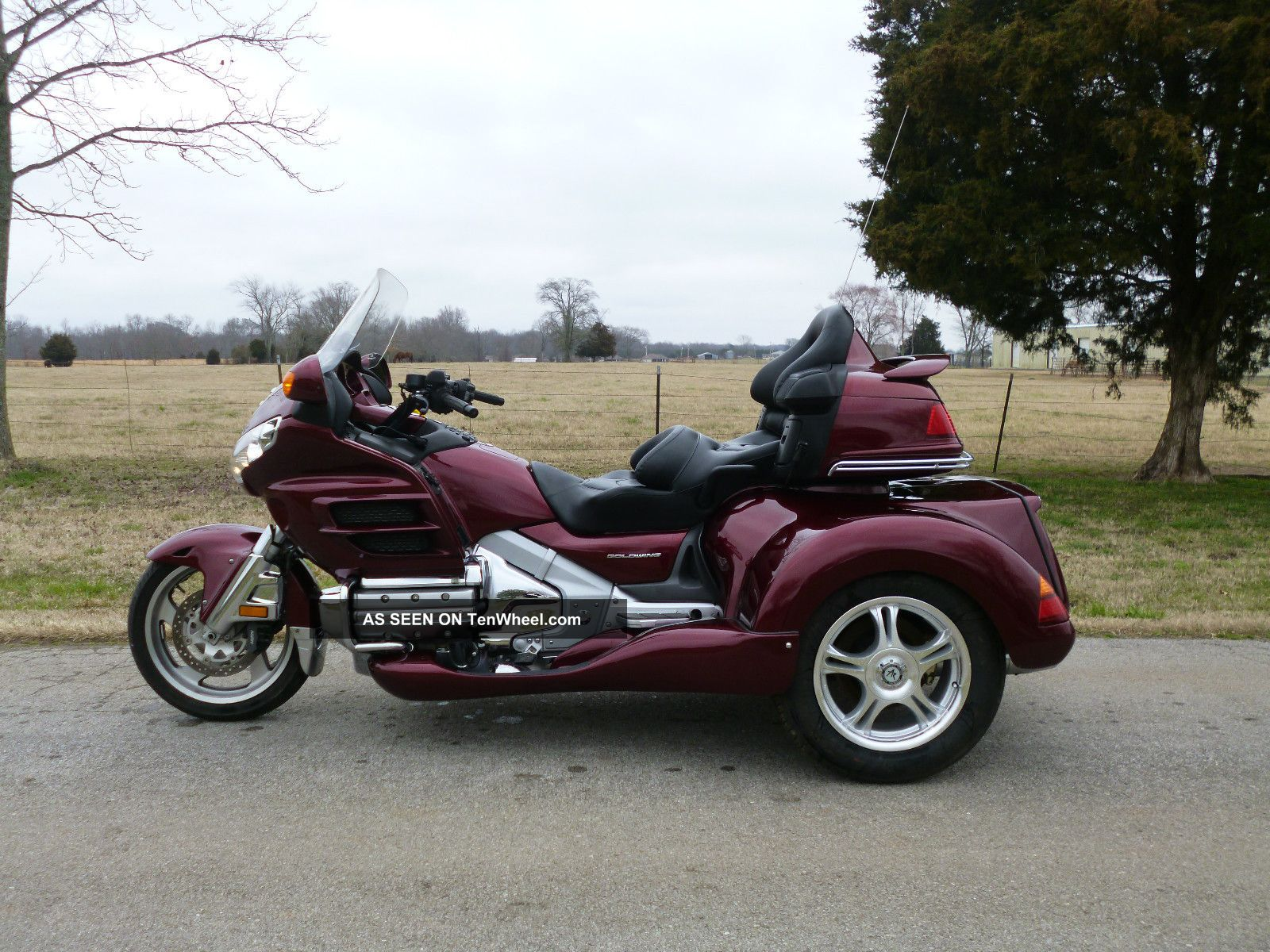 2005 Honda Goldwing Gl1800 Roadsmith Trike