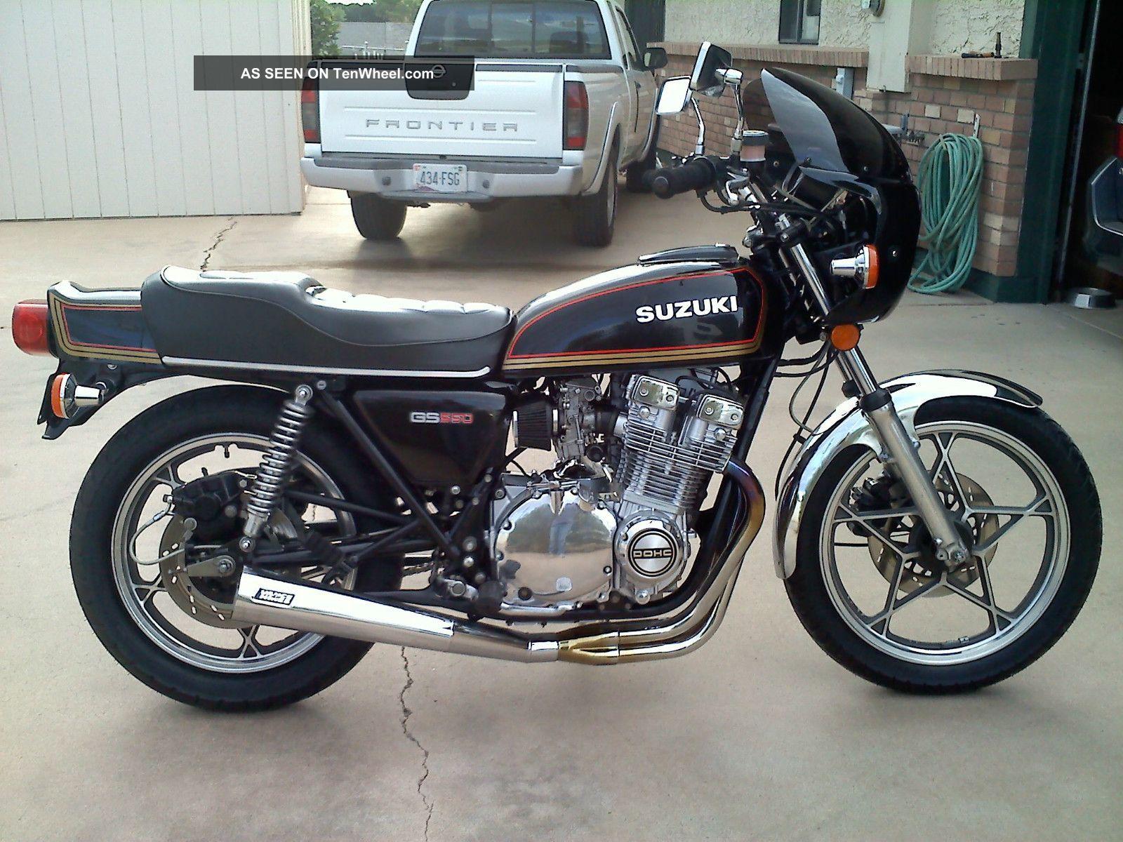 1978 Suzuki Gs550e Custom 750 Engine GS photo
