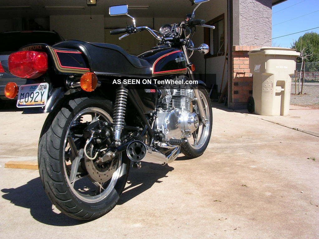 1978 Suzuki Gs550e Custom 750 Engine